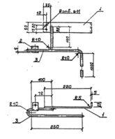 Кронштейн Р-4 (3.407.1-143.8.61) 1,5 кг
